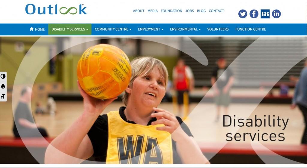 Outlook website