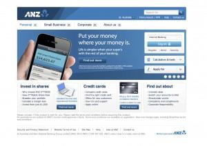 ANZ super web banner